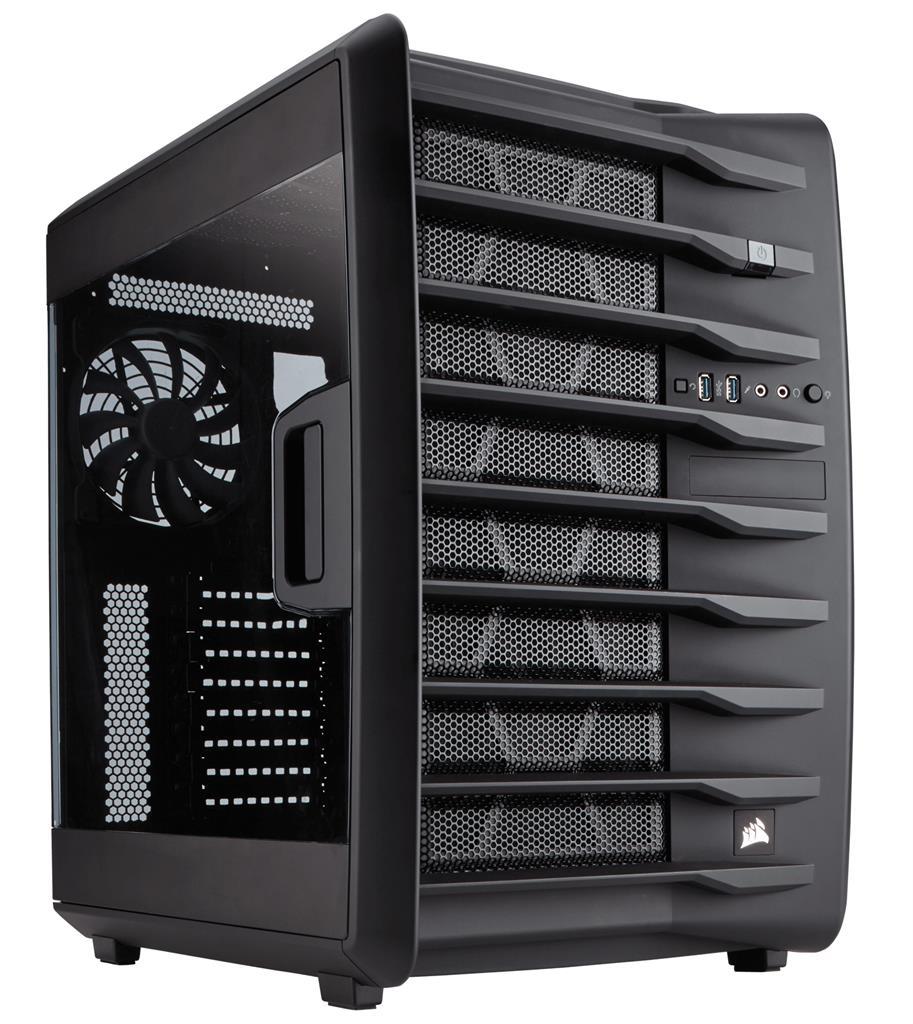 Corsair case Carbide Series Air 740   High Airflow ATX Cube Datora korpuss