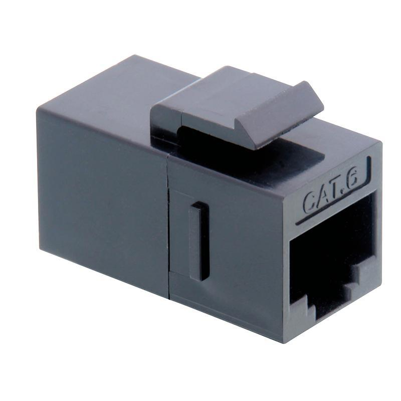 LOGILINK - Keystone Inline Coupler 2xRJ45 Cat.6 UTP, snap-in mounting