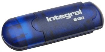 Integral USB Flash Drive 8GB EVO blue USB Flash atmiņa