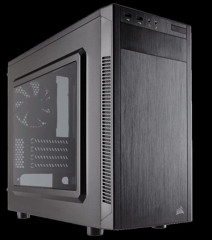 Corsair Carbide Series 88R MicroATX Mid-Tower Case, 120mm fan Datora korpuss