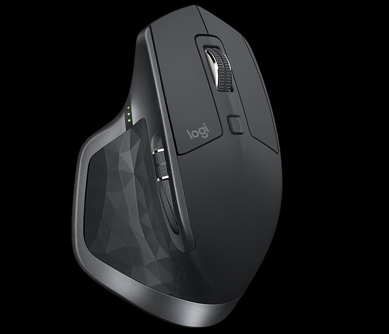Logitech MX Master 2S RF wireless + Bluetooth Laser 4000DPI graphit Datora pele