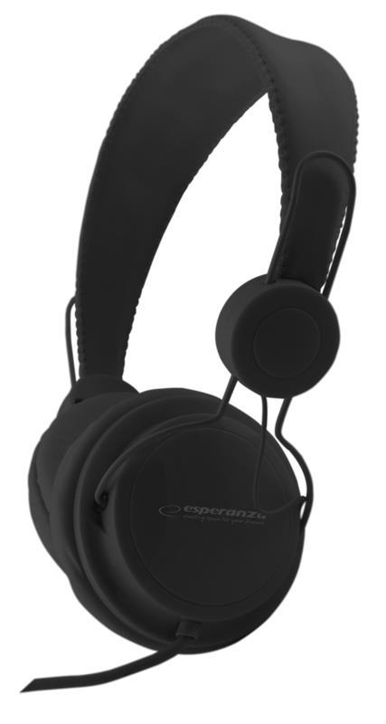 ESPERANZA EH148K SENSATION Audio Stereo Headphones with volume control   | 3m austiņas