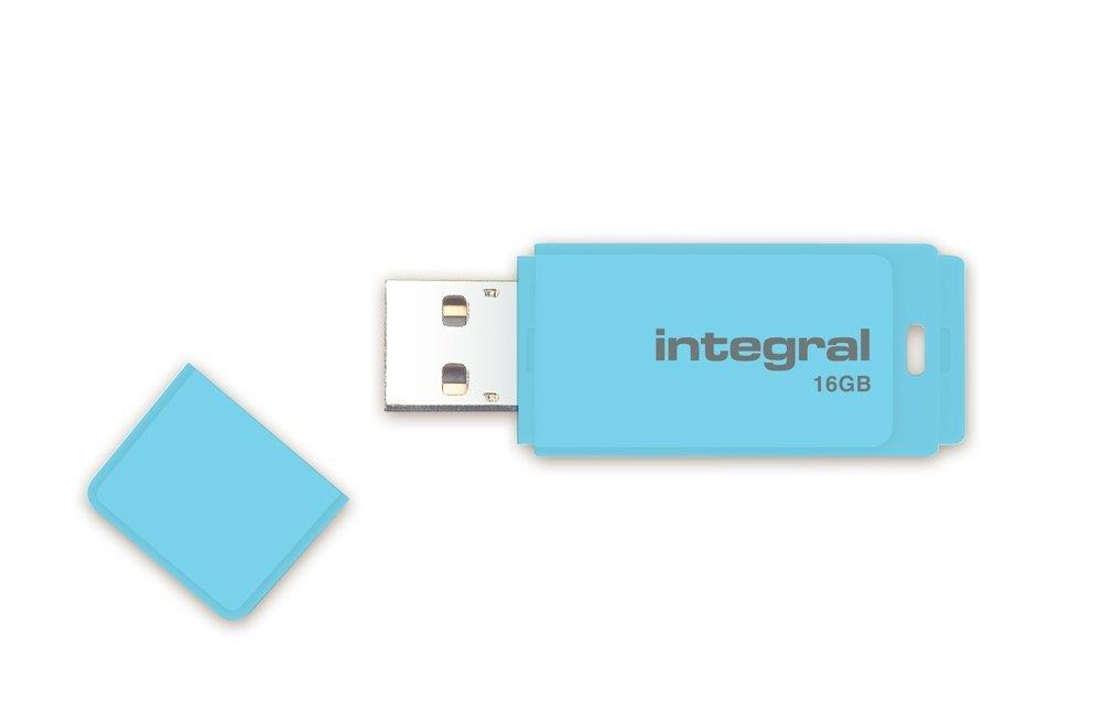 Integral Pastel 16GB USB2.0 Flash Drive col.:Blue Sky USB Flash atmiņa