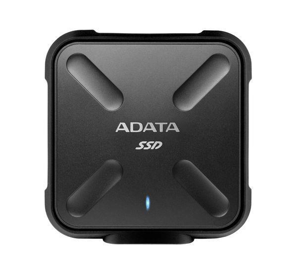 Adata SSD SD700 256GB, 440/430MB/s, USB3.1, black SSD disks