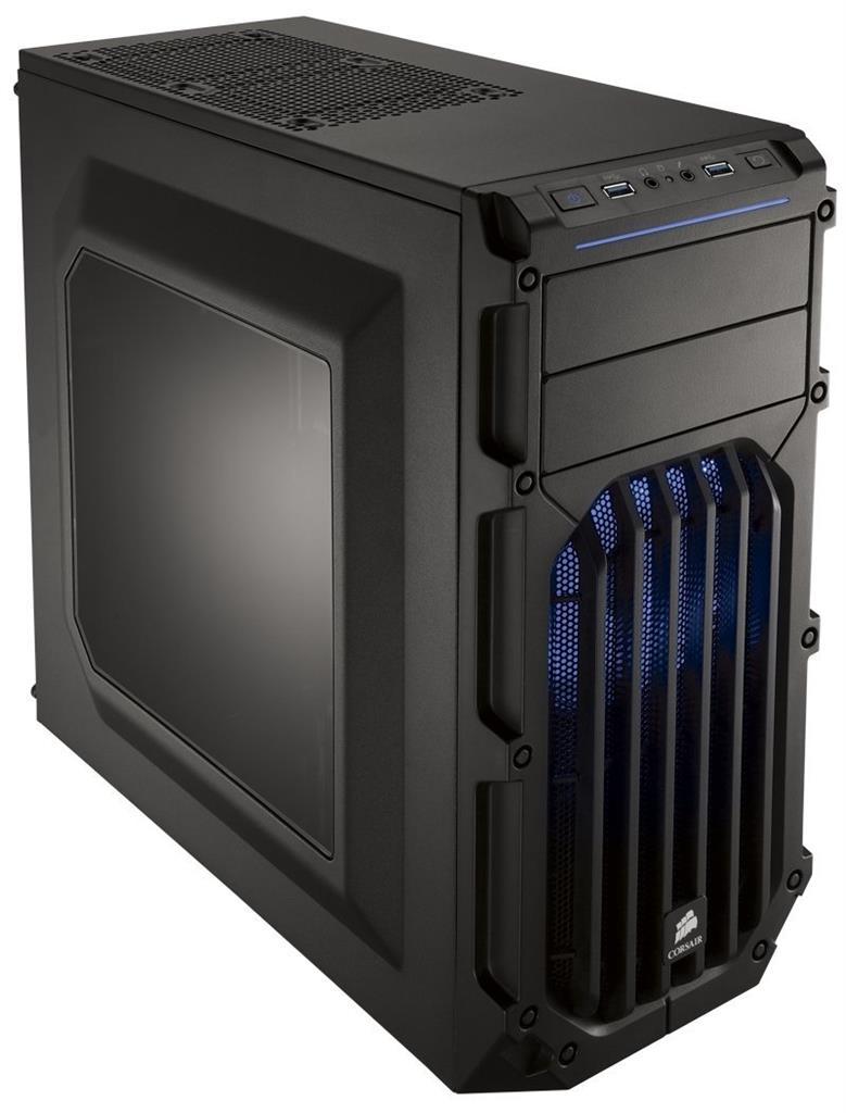 CORSAIR Carbride SPEC-  03 BLACK USB3.0 MID-TOW Datora korpuss