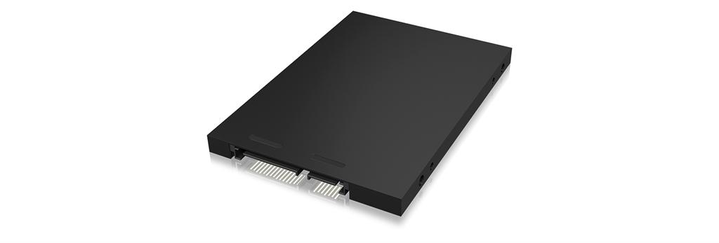 ICY BOX IB-M2S251 SSD enclosure M.2 Zoll black (60090) piederumi cietajiem diskiem HDD