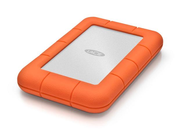 LaCie Rugged Mini 2.5inch 4TB USB 3.0, Shock resistant Ārējais cietais disks
