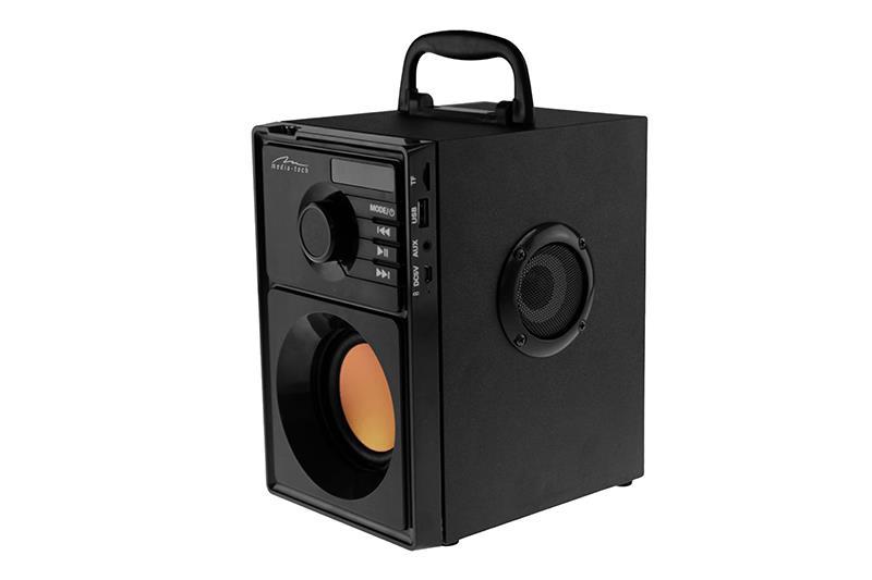 MediaTech Boombox BT MT3145, BT2.1, 15W RMS, MP3, FM pārnēsājamais skaļrunis