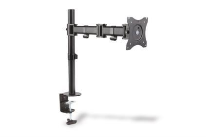 Monitor Stand, 1xLCD, max. 27'', max. load 8kg,  adjustable and rotated 360