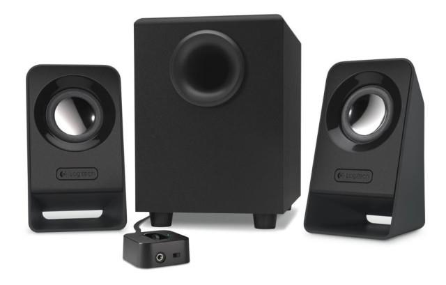 Logitech Z213 Multimedia Speakers Black datoru skaļruņi