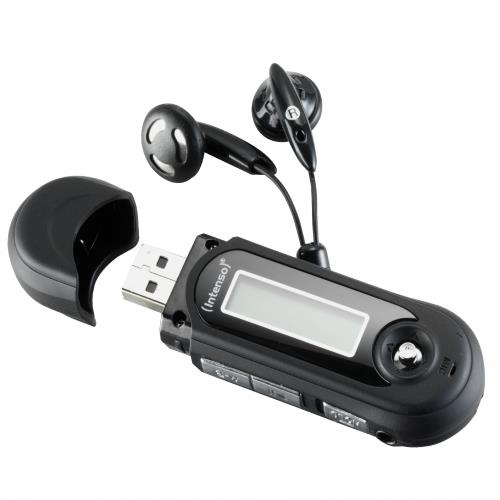 Intenso Music Walker MP3 Player black MP3 atskaņotājs