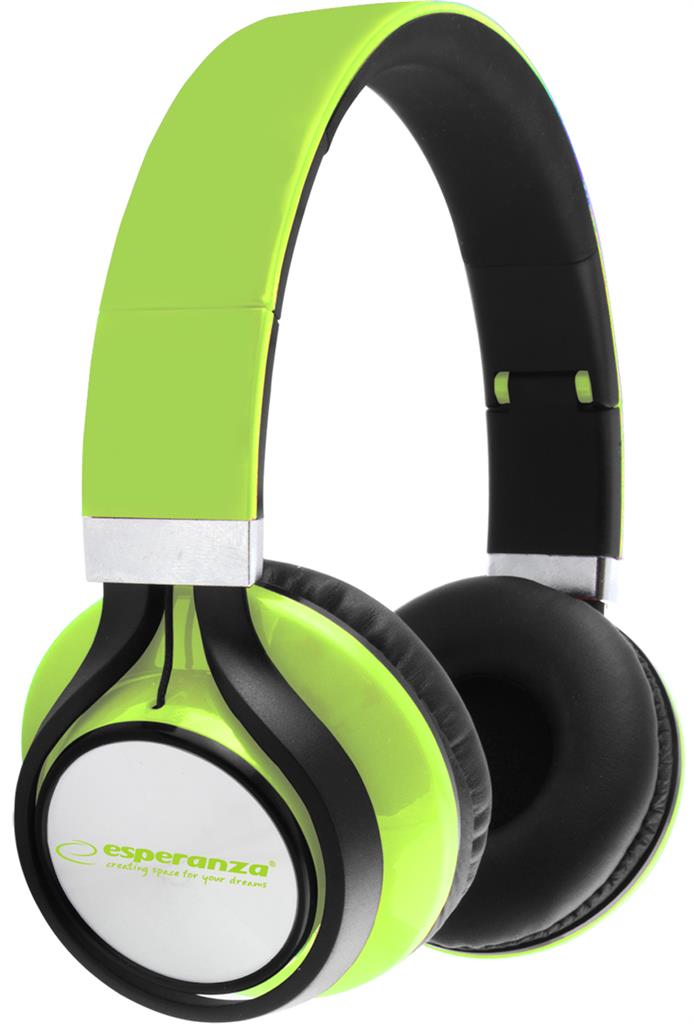 ESPERANZA EH159G FREESTYLE Audio Stereo Headphones with volume control   | 2m austiņas