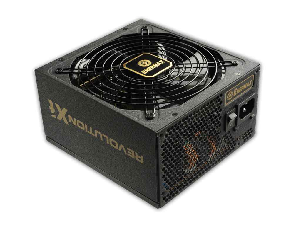 PSU Enermax Revolution XT II ERX750AWT 750W, 80 PLUS Gold, 139mm fan Barošanas bloks, PSU