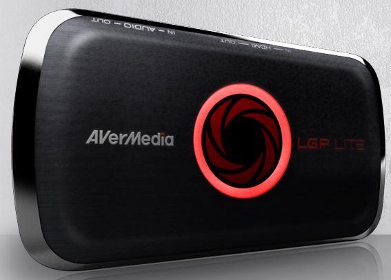 AVerMedia Live Gamer Portable Lite (61GL3100A0AD) dvd multimēdiju atskaņotājs