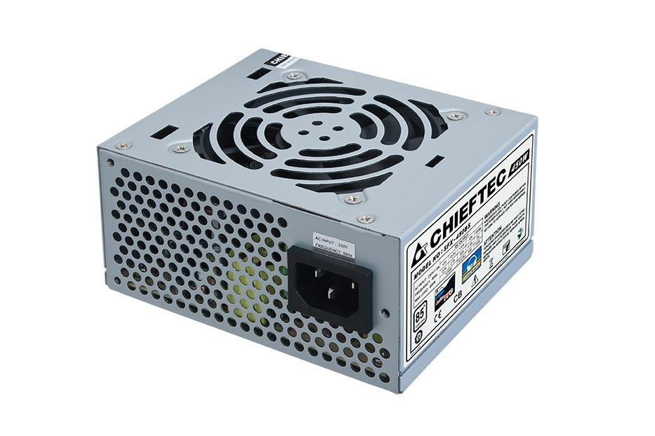 Chieftec SFX PSU SMART series SFX-450BS, 450W bulk, 8cm fan, active PFC Barošanas bloks, PSU