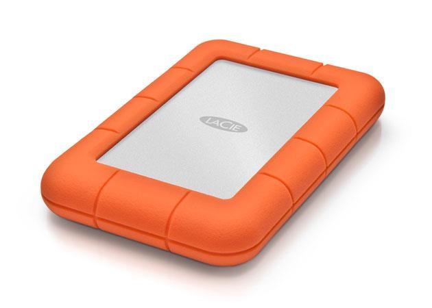 LaCie Rugged Mini 2.5'' 2TB USB3, Shock resistant Ārējais cietais disks