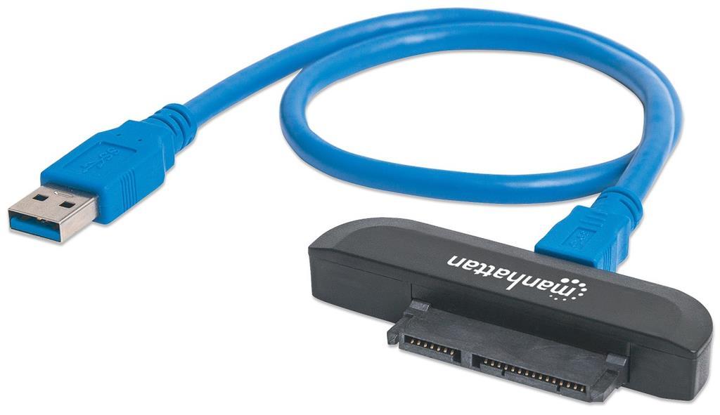 Manhattan SuperSpeed USB 3.0 to SATA 2.5'' adapter cietā diska korpuss