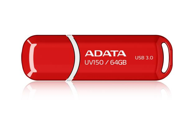 A-DATA UV150 64GB USB3.0 Stick Red USB Flash atmiņa