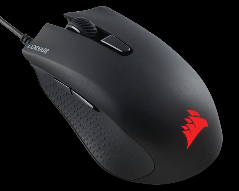 Corsair Gaming   HARPOON RGB Gaming Mouse, Backlit RGB LED, 6000 DPI, Optical Datora pele