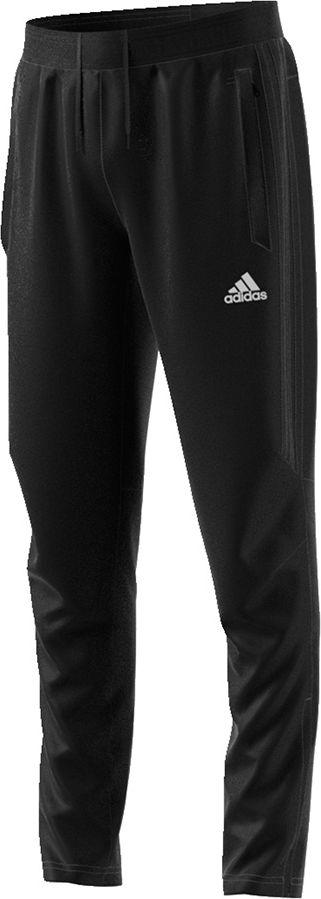 Adidas Spodnie dzieciece Tiro 17 TRG PNT Youth czarny r. 128 cm (BK0351) BK0351