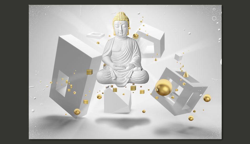 Artgeist Fototapeta - Geometryczna medytacja 350x245 BP-3XLNEW011007