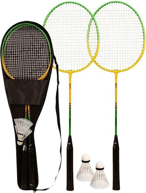 Avento Zestaw do badmintona 2 rakietka + 2 lotki 65GA badmintona rakete