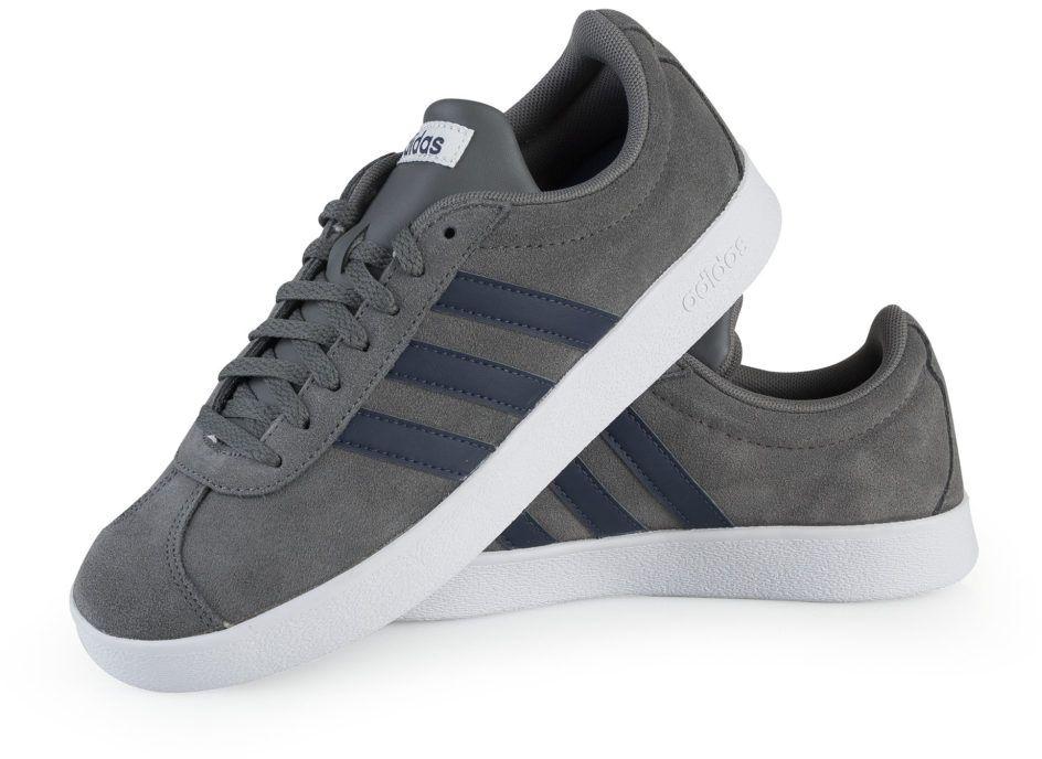 Adidas Buty meskie VL Court 2.0 szare r. 38 2/3 (DA9862) 18510