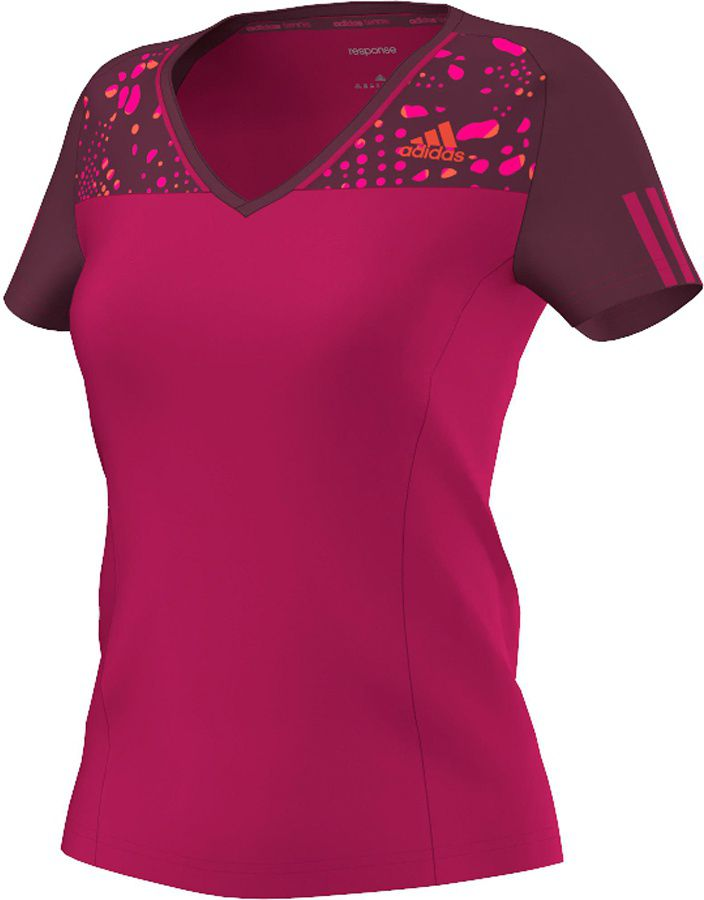 Adidas Koszulka damskaResponse Trend  rozowa r.  XS (M61807) M61807