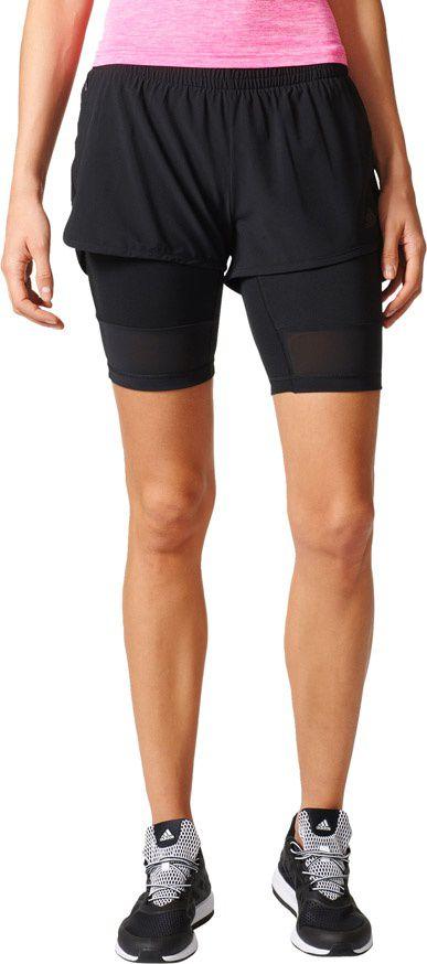 Adidas Spodenki damskie 2IN1 Long Short czarne r. S (BK7690) BK7690