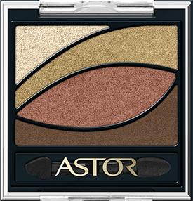 Astor  Eye Artist Shadow Palette nr 120 Latin Night 4g 3607349184322 ēnas