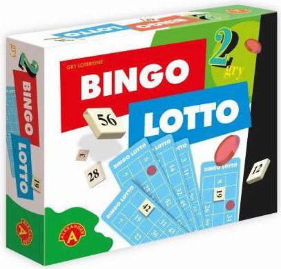 Alexander 2w1 Bingo Lotto - 1381 galda spēle