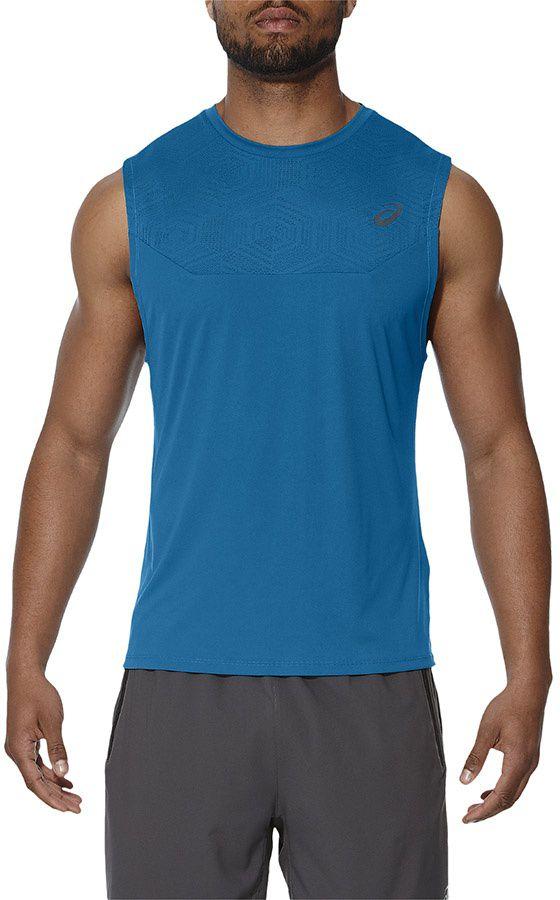Asics Koszulka meska Ventilation niebieska r. XL (141817 8154) 141817 8154