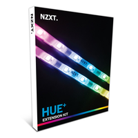 NZXT HUE+ Extension Kit , *Add Two LED Strips to the HUE+ supporting up to 40 LEDs per channel*Numerous lighting modes and countless customi aksesuārs datorkorpusiem