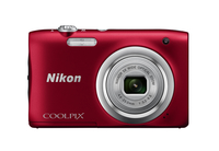 Nikon COOLPIX A100 Red Digitālā kamera