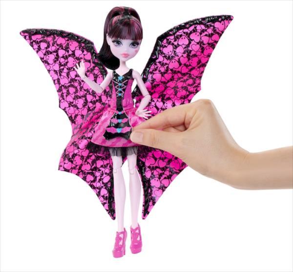 Mattel Monster High FlederMouse Draculaura (DNX65) bērnu rotaļlieta