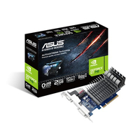ASUS GeForce GT 710, 2GB GDDR3 (64 Bit), HDMI, DVI, D-Sub video karte