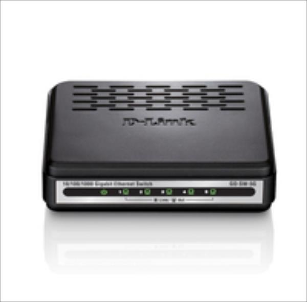 D-link 5-port switch    5xGbE komutators