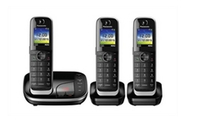 Panasonic KX-TGJ323GB black telefons