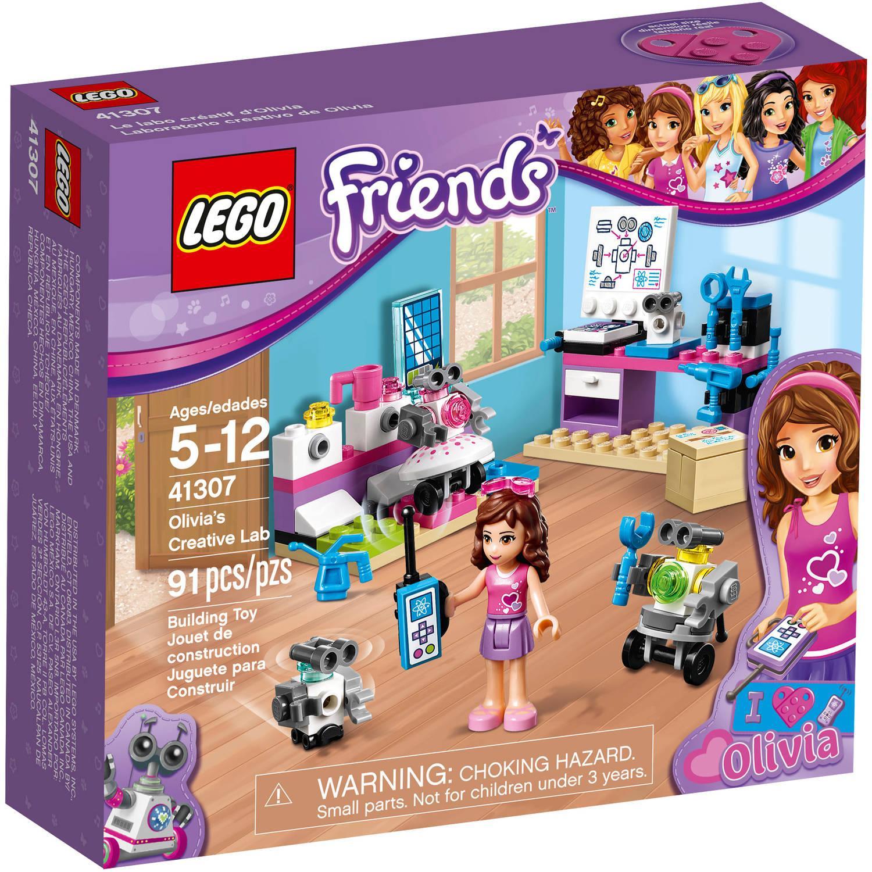 Lego Friends 41307 Olivias Creative Lab LEGO konstruktors
