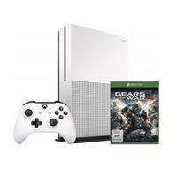 Microsoft Xbox One S 1TB + Gears of War 4 spēļu konsole