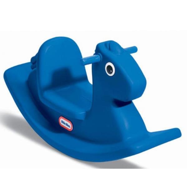 Plastmasa šūpuļzirgs LITTLE TIKES SWING SEAT Zils bērnu rotaļlieta