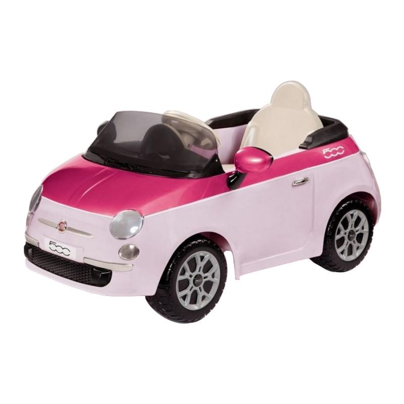Fiat 500 Pink/Fucsia W/Remote Control (6V) IGED1164
