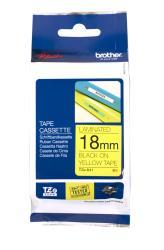 BROTHER TZE641 tape black/yellow 18mm 4m biroja tehnikas aksesuāri