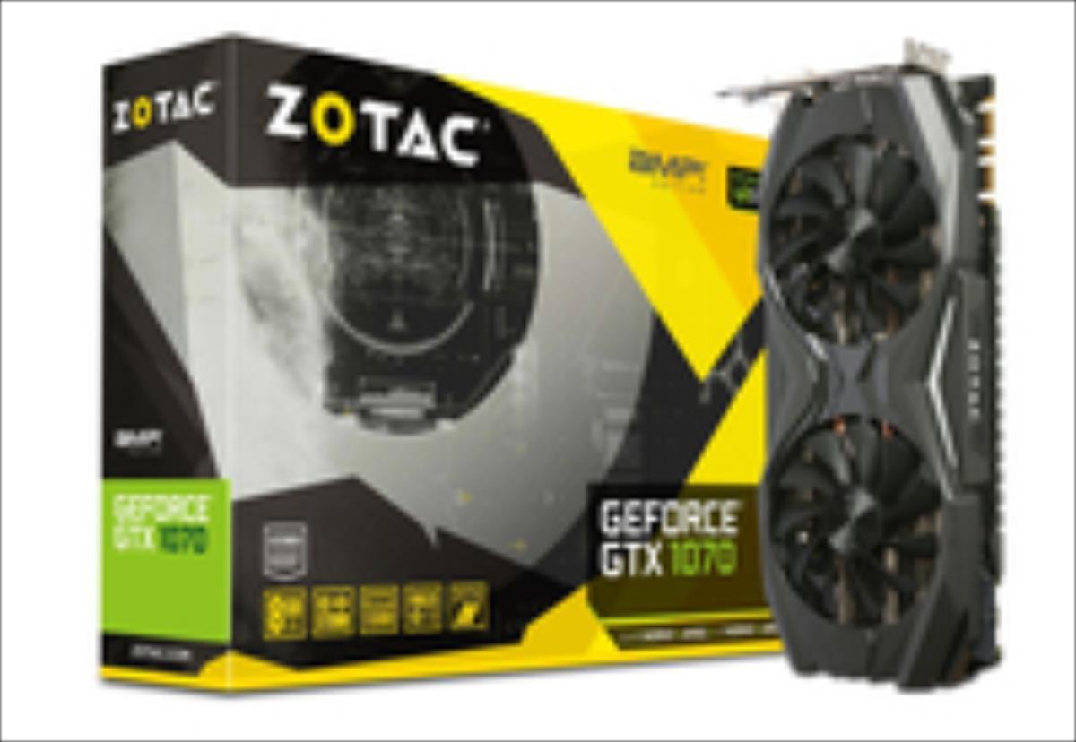 ZOTAC GeForce GTX 1070 AMP  Edition, 8192 MB GDDR5 video karte