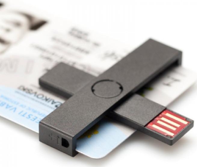 +ID Smart Card Reader black, BLISTER karšu lasītājs