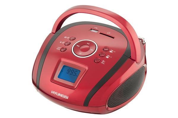 Boombox Hyundai TR1088SU3RB, USB/SD, tuner FM, aux-in magnetola