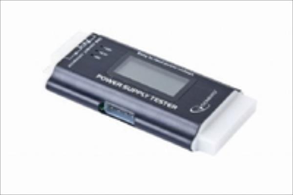 Gembird Power supply tester with LCD screen Darbarīki