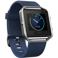 Fitbit Blaze Activity Tracker Fitness Watch S Blau Viedais pulkstenis, smartwatch