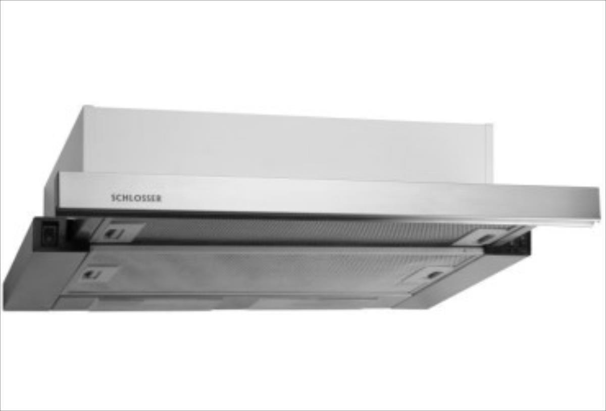 SCHLOSSER RH 15 FULL INOX/50 TVAIKA NOS. IEB. 2M Tvaika nosūcējs