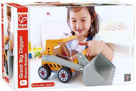 Hape Buldozer - 3012 Rotaļu auto un modeļi